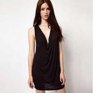 NWT UO Cheap Monday Justine Y-Back Dress In Black